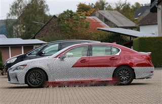 雷克萨斯GS F新谍照 预计洛杉矶车展发布
