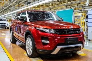 奇瑞捷豹路虎工厂开业 国产极光正式下线
