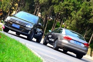 同品牌不同车型如何选 途观对比帕萨特