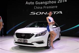 2014广州车展 北京现代第九代索纳塔图解