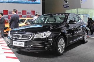 2014广州车展 绅宝首款C级车D80正式亮相