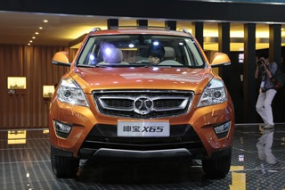 绅宝首款SUV车型X65发布 或明年4月上市