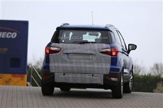 曝福特新EcoSport谍照 或亮相日内瓦车展