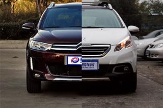 雪铁龙C3-XR对比标致2008 同平台的对决