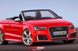 新款奥迪RS3衍生车型假想图 未来或量产