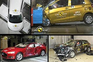 E-NCAP安全碰撞解析 多车获得五星评价