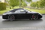 保时捷911 GTS敞篷版谍照曝光 或年底亮相