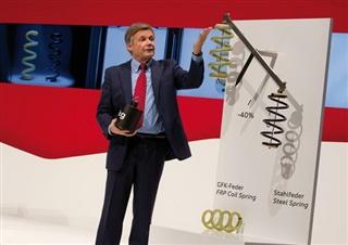 奥迪开发车用玻纤弹簧 年底前或将量产