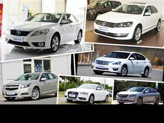 2014年上半年车市热销车型解读 中级车篇