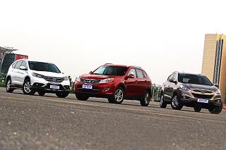 三款紧凑级SUV对比测试 自主挑战日韩