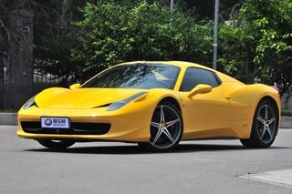 法拉利或推新入门车 定位低于458 Italia