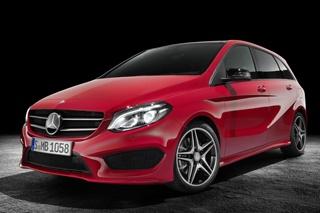 新款奔驰B级官图曝光 将于巴黎车展发布