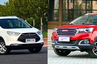 瑞风S3对比哈弗H1 自主小型SUV之争