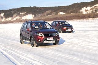 冰雪试驾2015款景逸X5 配置升级/价格不变