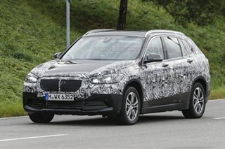 BMW全新X1七座版谍照 或2016年上市