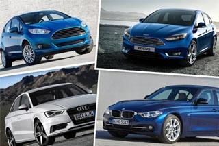 2015年8月份海外车市销量榜 英国篇