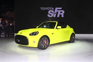 2015东京车展 丰田S-FR概念车正式亮相