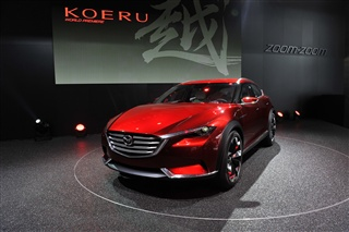 马自达KOERU越概念车将亮相广州车展