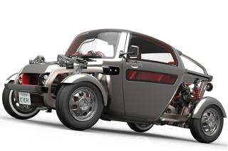 丰田Kikai概念车发布 采用复古风格设计