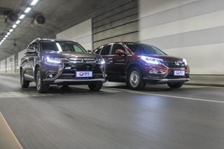 欧蓝德对比CR-V 紧凑级SUV的差异化较量