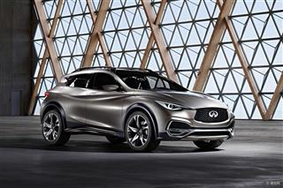 英菲尼迪QX30量产版将亮相2015广州车展