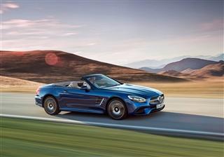 奔驰新款SL级发布 将搭载3.0T发动机