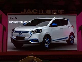 江淮新能源产品规划曝光 iEV6S明年上市