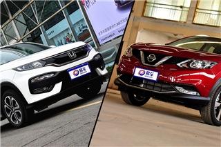 热卖SUV跨级约战 日产逍客对比本田XR-V