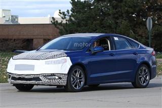 福特新款蒙迪欧谍照 将亮相2016北美车展