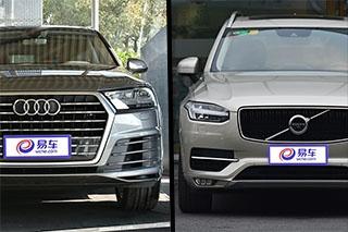 80万的旗舰SUV选谁 奥迪Q7对比沃尔沃XC90