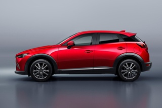 聊聊广州车展最该来的新车——马自达CX-3
