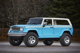 Jeep七款概念车官图发布 3月28日亮相