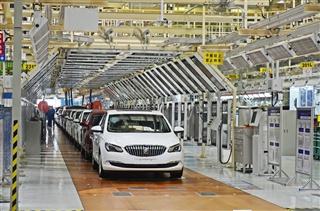 探访上海通用武汉工厂 揭秘新英朗诞生地