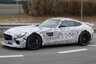 奔驰AMG GT新车型谍照 或为高性能版