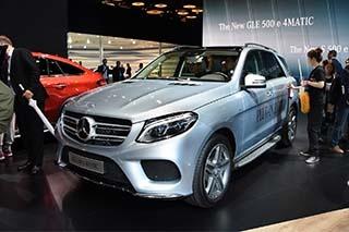 2015上海车展 全新奔驰GLE 500e图解