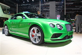 2015上海车展 宾利新款欧陆GT国内首发