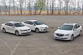 三款紧凑车的油耗对比 综合路况测试