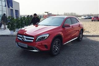 国产奔驰GLA正式下线 上海车展发布