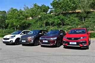 寻找加速最快的王者 四款小型SUV性能测试