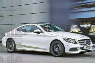 奔驰C级Coupe最新假想图曝光 将于9月发布