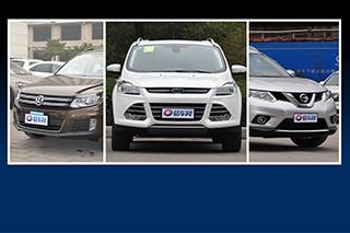 1-4月热销合资SUV盘点 满足各种需求