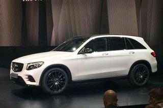 奔驰GLC正式发布 2016年初国产上市