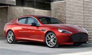 阿斯顿马丁全新车型假想图 或定位B级轿跑