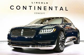林肯Continental明年初发布 目标中国市场