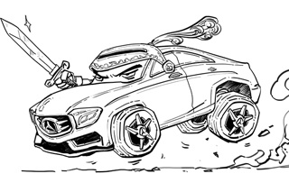二混子Stone汽车台 一寸长真的一寸强?