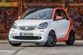新smart fortwo上市 售12.5万-13.6万元