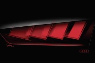 奥迪矩阵OLED大灯技术 法兰克福车展首发