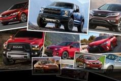 2015年上半年海外车市销量排行榜 美国篇