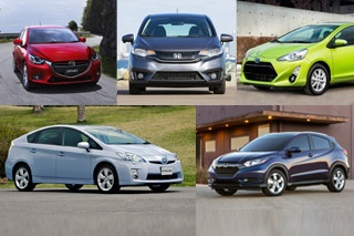 2015年上半年海外车市销量榜 日本篇