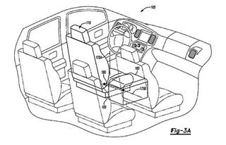 福特全新专利图曝光 座椅旋转/方向盘收缩